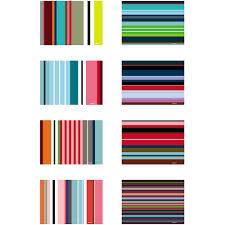 set de table originaux set of 48 paper placemats stripes by remember