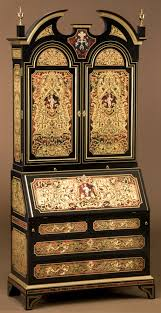 Furniture Secretary Desk Cabinet by Luxury Secretary Desk With Cabinet King Louis Collection