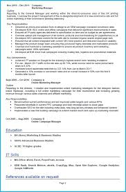 resume interests section examples digital marketing cv example with writing guide and cv template digital marketing cv example page 2