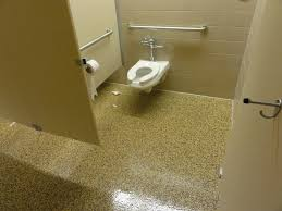 commercial bathroom flooring trellischicago