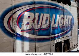 Bud Light Logo Bud Light Beer Delivery Truck Usa Stock Photo Royalty Free