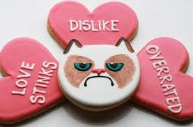 grumpy cat valentines grumpy cat isn t excited for s day