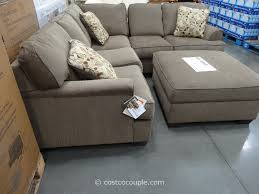 Sectional With Ottoman Berkline Jaxelle Fabric Sectional And Ottoman