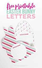 dear santa letter template free free printable easter bunny letters thirty handmade days these free printable easter bunny letters are a fun keepsake for your kids to do the