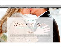 our wedding website set up your own wedding website no computer science degree