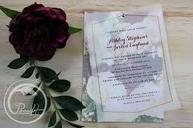 layered wedding invitations floral vellum layered wedding invitation pocadot invitations