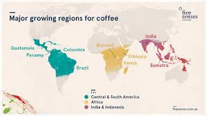 Map Of Central America And South America Coffee Selection Guide How To Choose The Beans That Are Right For