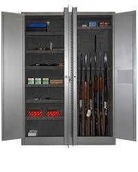 Safe Cabinet Securall Slimline 7 Gun Cabinet 8 Shelves Gun Gun Cabinet