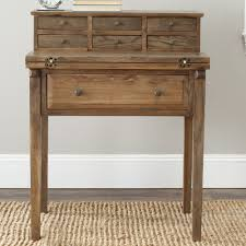 Landon Desk With Hutch Oak by Features Crafted Of Pine Fold Down Style Made For Small
