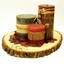 wood centerpieces wood tree slice centerpieces or trivets made on hatch co by