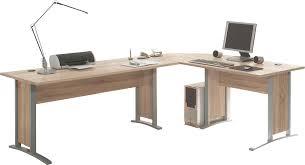 Schreibtisch 90 Cm Breit Winkelschreibtisch Office Line Sonoma Eiche Nb Schreibtische Poco