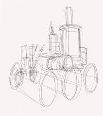 how to draw steampunk machines knowtex