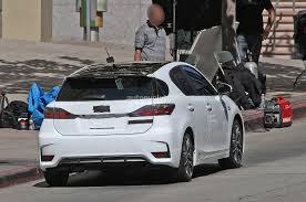 lexus hybrid ct200h 2013 spyshots lexus ct 200h f sport autoevolution
