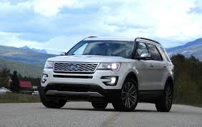Ford Explorer 2016 Interior First Spin 2016 Ford Explorer Platinum The Daily Drive