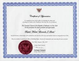 seal certificate of appreciation formatted