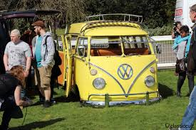 new volkswagen bus yellow volksworld 2016 vw show at sandown park classiccult