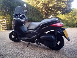yamaha xmax 125 maxi scooter black excellent condition low