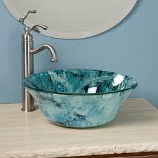 Glass Bathroom Sinks And Vanities Bathroom Glass Bowl Bathroom Sinks Vessel Sinks And Vanities