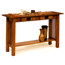 Broyhill Mission Style Bedroom Furniture Bedroom Beautiful Amish Mission Sofa Table Drawers Unfinished