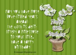 60 things for 60th birthday 60th birthday wishes quotes and messages 365greetings
