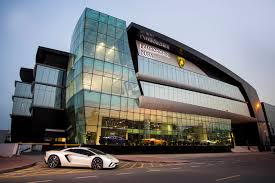 nissan showroom qatar lamborghini just opened its largest showroom yet u2013 guess where