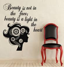 wall stickers quotes beauty color the walls of your house wall stickers quotes beauty wall decals quote sayings beauty decal beauty salon vinyl sticker