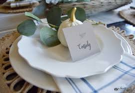 Placecards Printable Place Cards The Harper House