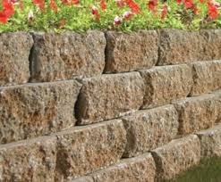 keystone garden wall castlelite block pavers and retaining walls