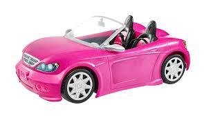 barbie corvette silver amazon com barbie glam convertible toys u0026 games