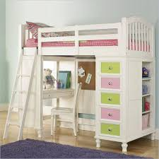 Bunk Bed With Sofa And Desk Bedding Metal Kids Bunk With Ladder And Long Narrow Computer Desk