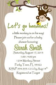 create your own invitations invitation for baby shower cool free printable monkey baby shower