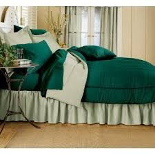 Solid Colored Comforters Amazon Com Reversible Solid Color Comforter Hunter Reversing To