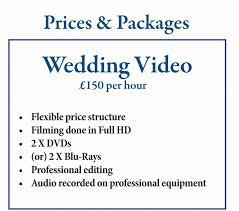 wedding videography prices surrey wedding dvd and blue by professional