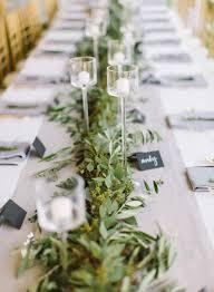 best 25 wedding table garland ideas on eucalyptus