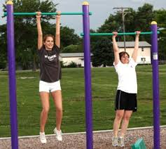 Backyard Pull Up Bar by Pull Up Bars At Outdoor Fitness Equipment