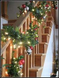 Christmas Banisters Christmas House Tour Clean And Scentsible