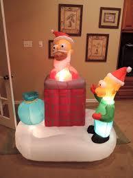 image gemmy inflatable simpsons christmas chimney scene jpg