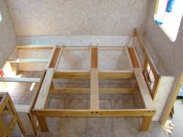 Rv Bed Frame Great Sliding Bed How To Home Build An Rv That Doesn T Look