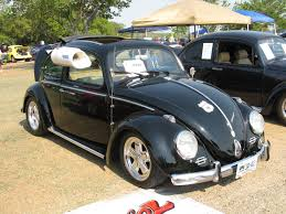 volkswagen beetle modified black black magic 0324 texas vw classic
