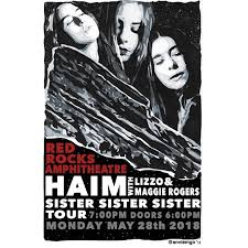 haim poster sistersistersister easygram viewer photos