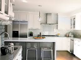 White Kitchen Cabinets And Backsplash Tile Backsplash And White - Backsplash with white cabinets