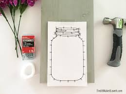 mason jar string art find it make it love it