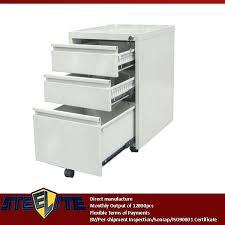 under desk file drawer 3 drawer file cabinet wood iamfiss com
