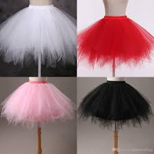 colorful cheap bridal petticoats 42cmgirl slips skirt halloween