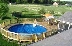 http www abovegroundpoolbuilder com above ground pool deck ideas