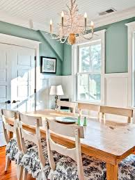 dining room paint colors with chair rail dark wood trim
