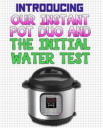black friday amazon instant pot introducing our instant pot duo u0026 the initial water test recipe