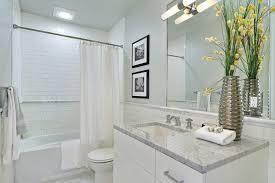 Bathroom Vanities Seattle Seattle Embedded Lights Bathroom Traditional With White Vanity