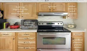 How To Put In Kitchen Cabinets How To Organize A Kitchen Cabinet New Where To Put Things In