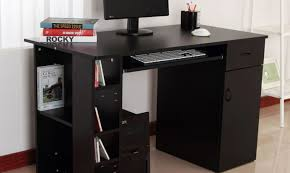 stylish computer desk desk computer desk with tower storage wonderful home office
